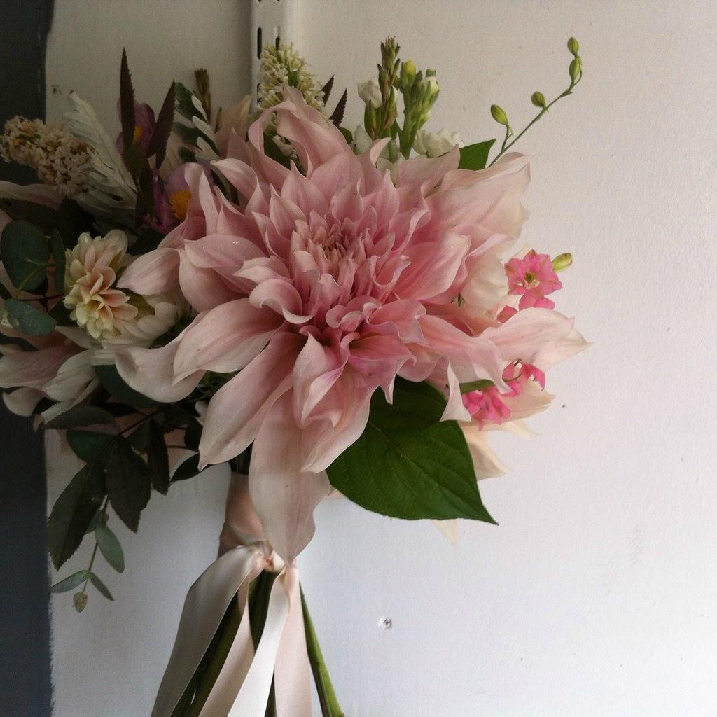 Wedding bouquet - british flowers from the wild heart of dorset