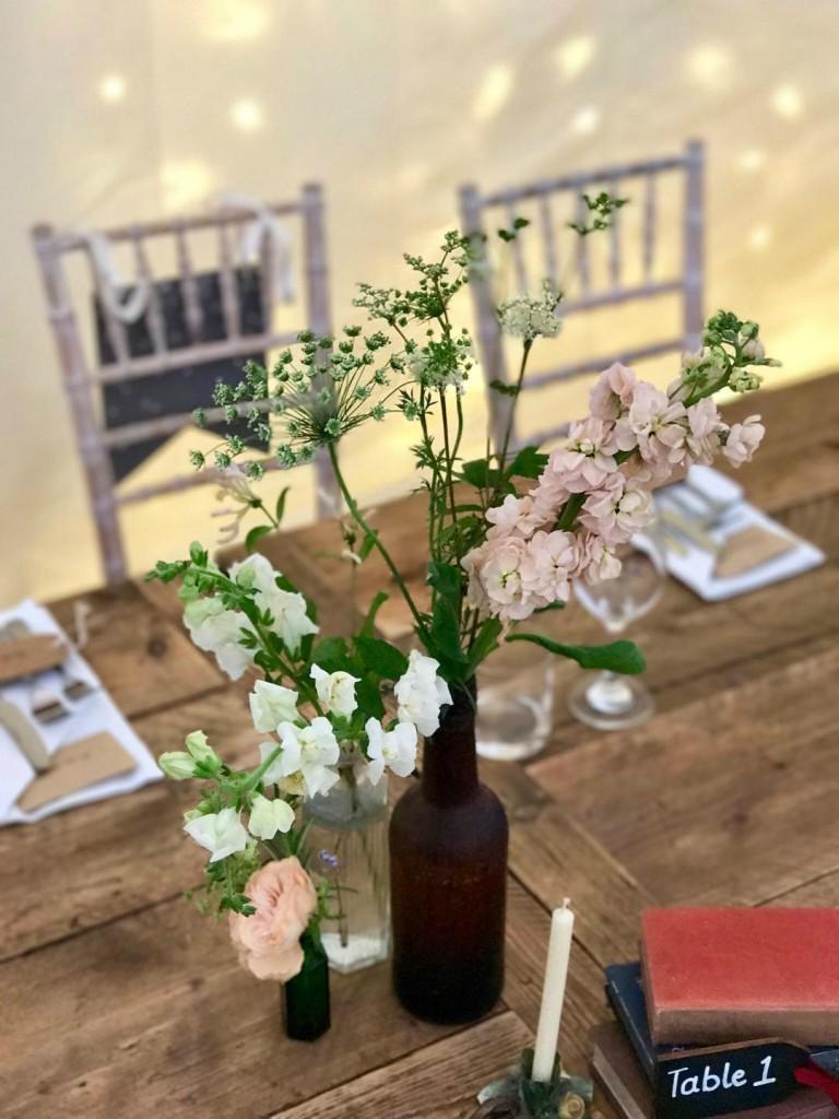 British flowers for weddings