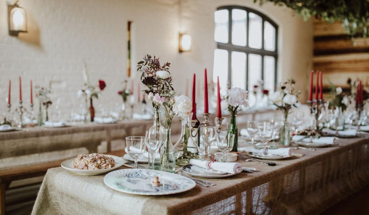 wedding table - British Flowers & Foliage, Weddings & Wholesale