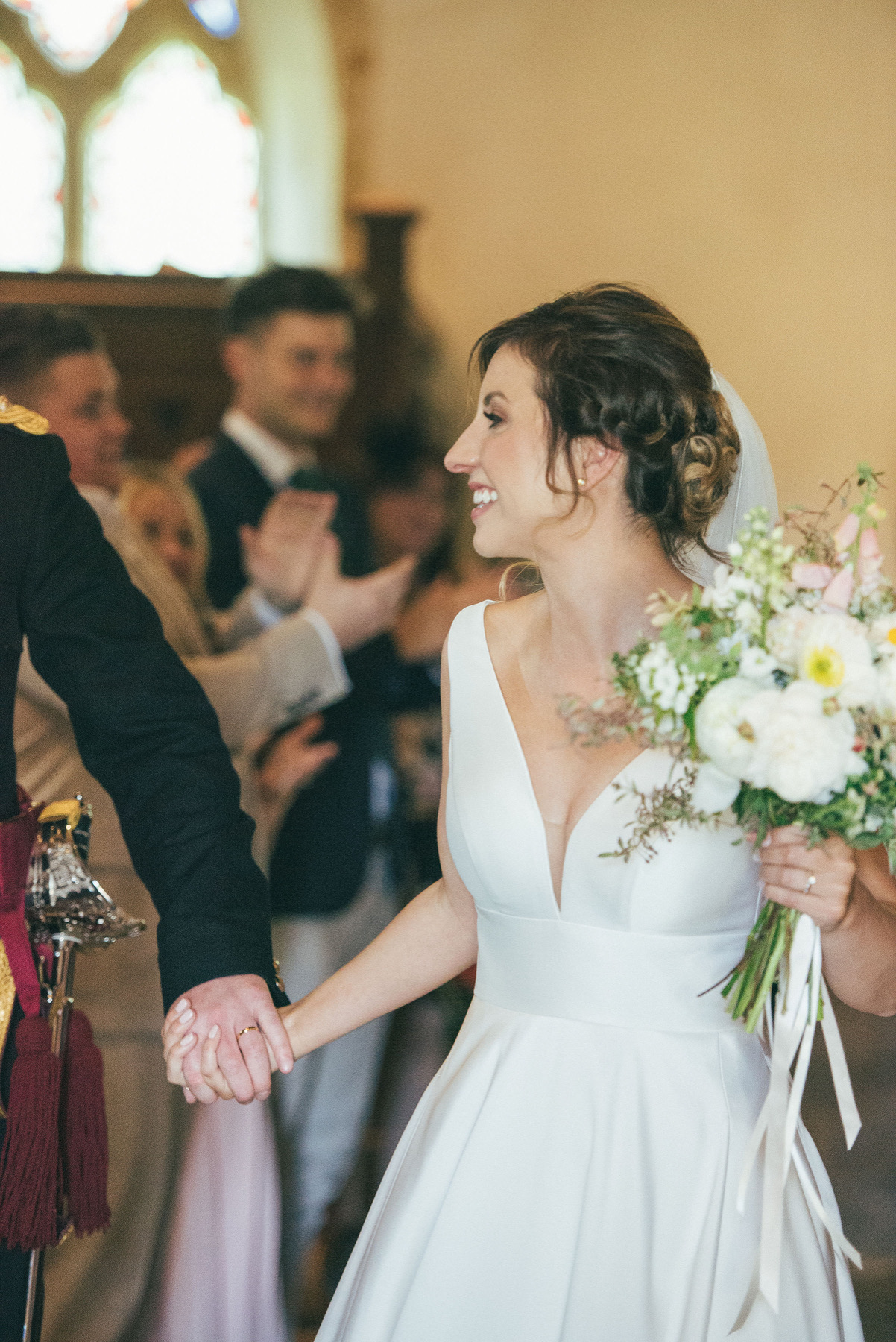 Bridal bouquet by Zanna @ S P I N D L E - british flowers from the wild heart of dorset
